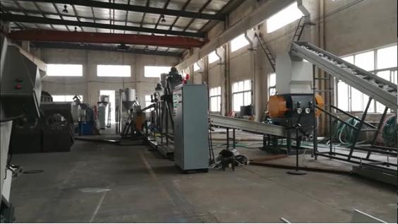 Argus Maszyny-Linia do mycia PET